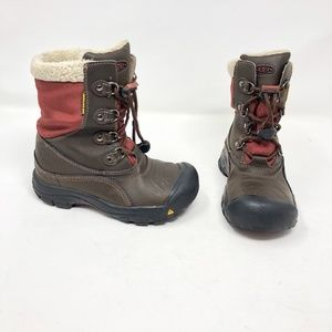 Keen Brown Boots  200 Gram Insulation Youth 1 Warm